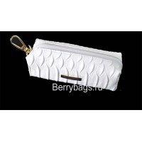 Ключница кожаная женская карманная Bristan Wero 117466 -White