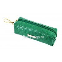 Ключница кожаная женская карманная Bristan Wero 117468 Green