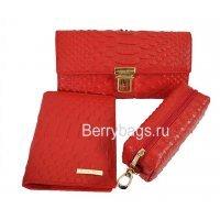Женский подарочный набор с открыткой Bristan Wero 117485 Red