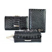 Женский подарочный набор с поздравительной открыткой Bristan Wero 117491 Black