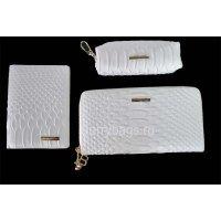 Женский подарочный набор белого цвета Bristan Wero 117502 White