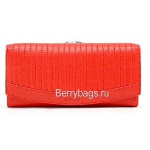 Классический красный женский кошелек Bristan Wero 247207 - Feasible