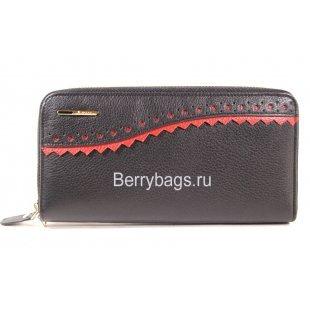 Женский кожаный кошелек на молнии Bristan Wero 8753 - Bounce