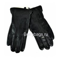 Перчатки мужские кожаные Classik 254874 STAFF