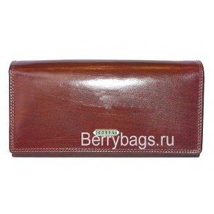 Кошелёк женский кожаный Cosset 1121 Brown
