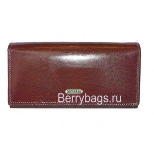 Кошелёк женский кожаный Cosset 1131 Brown