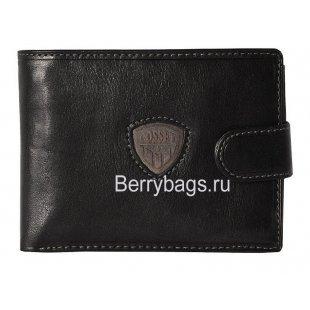Кошелёк мужской кожаный Cosset 1191 Black