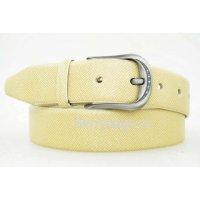 Ремень кожаный женский джинсовый  DKN 120009