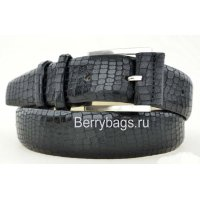 Ремень женский джинсовый кожаный DKN 120014