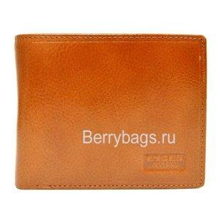 Классическое мужское портмоне из кожи Escos 112208