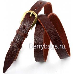 Женский ремень для платья FS15-17 - Brouny Red