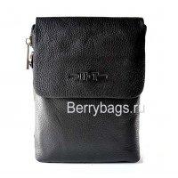 Маленькая сумка на ремень мужская кожаная Hight Touch 117432 Cross