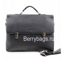 Портфель мужской кожаный Hight Touch 15175 Black