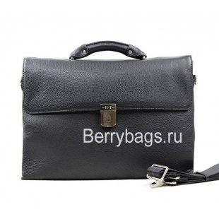 Портфель мужской кожаный Hight Touch 15176 Black