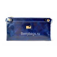 Женский кожаный кошелек JCCS 117433 Dark blue