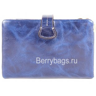 Кошелек женский кожаный JCCS 150217 blue