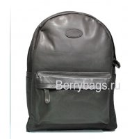 Рюкзак классический кожаный графит Jefry 569345 Grafit