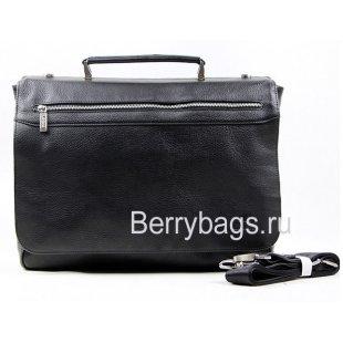 Портфель кожаный мужской мягкий каркас Lare Boss 6508020