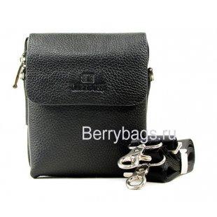 Небольшая плечевая сумка LareBoss 9923-120 Black