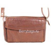 Женская плечевая сумка M-14 -Invito Brown