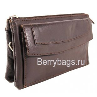 Женская плечевая сумка M-14 -Invito Dark Brown
