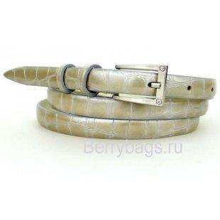 Женский ремень узкий OPS 12630 -Sabre