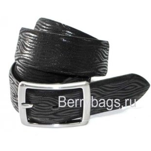 Женский ремень джинсовый OPS 12759 - Zebra Black
