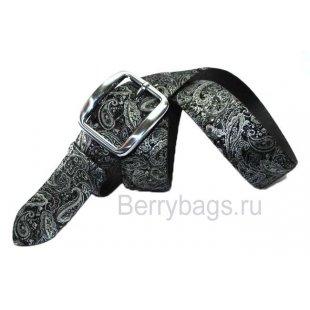 Женский ремень джинсовый OPS 12765 -Hohloma Silver