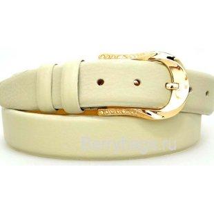 Женский ремень для брюк OPS 12791 - Surfvan White