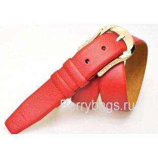 Женский ремень для брюк OPS 12794 - Crossy Red