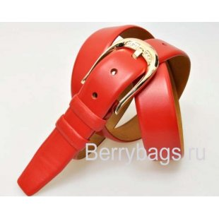 Женский ремень для брюк OPS 12800 - Smoochi Red
