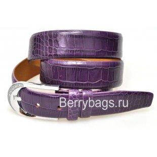 Женский ремень для брюк OPS 12804 - Iguana Violet