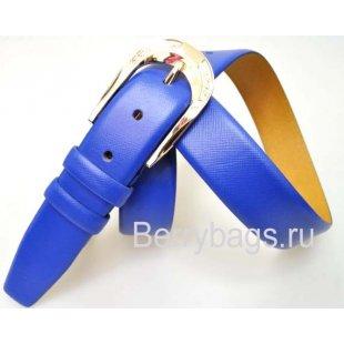 Женский ремень для брюк OPS 12806 - Crossy Blue