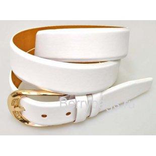 Женский ремень для брюк OPS 12807 - Smoochi White