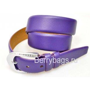 Женский ремень для брюк OPS 12810 - Crossy Violet