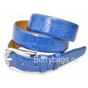 Женский ремень для брюк OPS 12815 - Iguana Blue