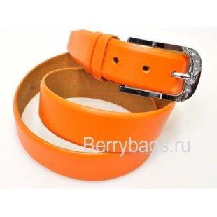 Женский ремень для брюк OPS 12816 - Smoochi Orange
