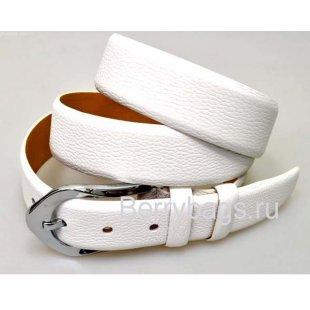 Женский ремень для брюк OPS 12818 - Seedy White