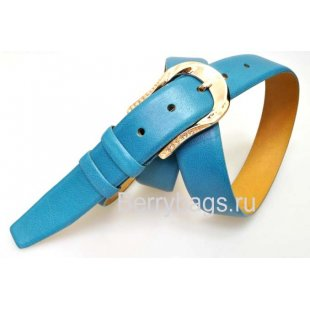 Женский ремень для брюк OPS 12820 - Yali Blue