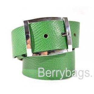 Ремень женский кожаный OPS 1962 Green