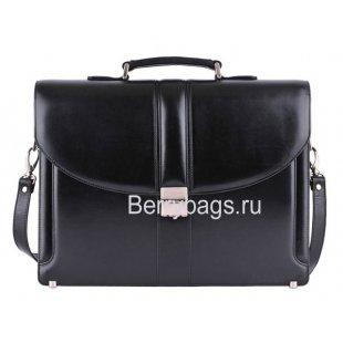 Портфель мужской кожаный PETEK 793 Black