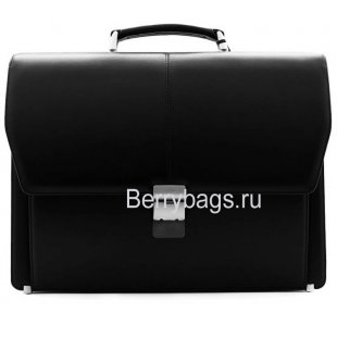 Портфель мужской кожаный PETEK 799 Black
