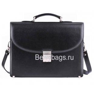 Портфель мужской кожаный PETEK 844 Black