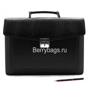 Портфель мужской классический PETEK 891 Black
