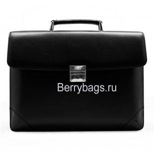 Портфель мужской кожаный PETEK 892 Black