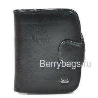 Женский кожаный кошелек черный Petek 21261-Mini