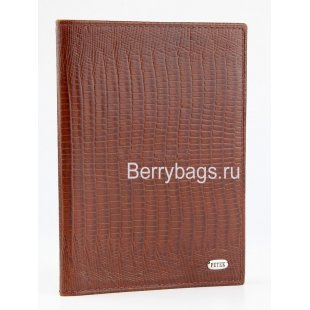 Обложка для паспорта Petek 581.041.02 Brown