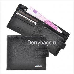 Кошелек мужской кожаный Prensiti 9386 Black