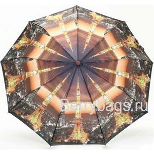Зонт женский Rain city 23748 Night Paris