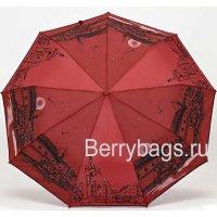 Зонт женский Rain city 23775 Red